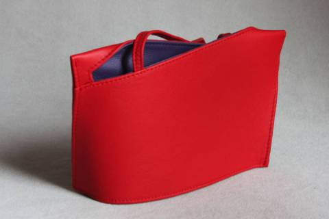 0ca7eff850eaf Design Ledertaschen Wave 22512 Rot Lila  Warengruppen