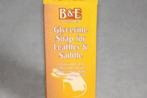 und Sattelseife B /& E Glycerin Leder 250 g Leder Lederseife Spezialseife