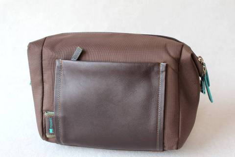 Kulturtasche - Washbag - Chocolate Mousse